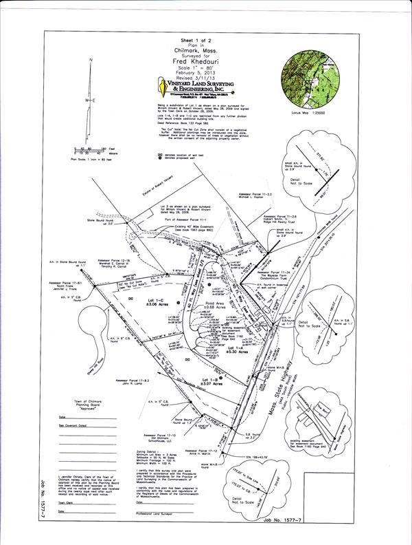 Lot 1A Bartlett Woods, Chilmark, MA