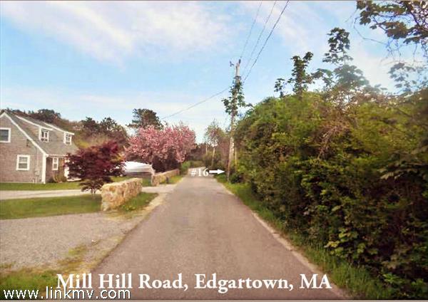 16 Mill Hill Road, Edgartown, MA