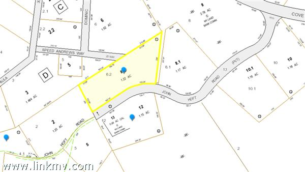Lot 8.2 John Hoft Road, Vineyard Haven, MA
